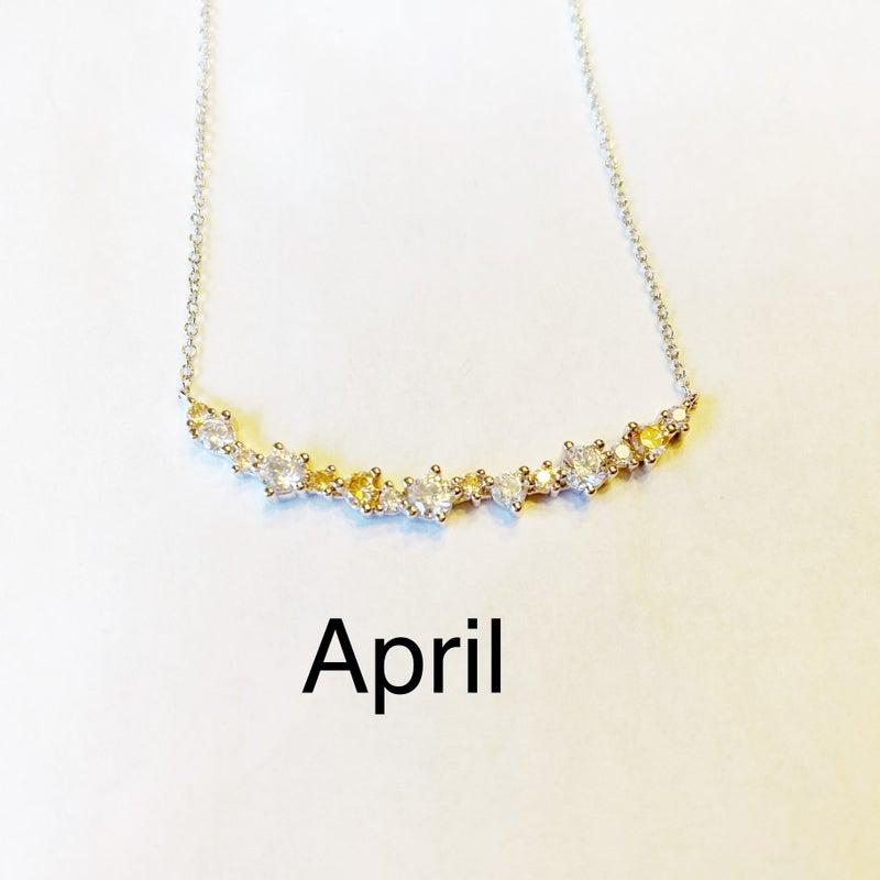 Hespera Birthstone Necklaces