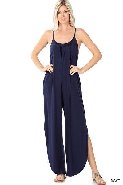 Walkin' Tall Jumpsuit - 7 Colors!