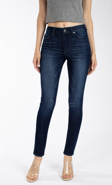 If You Only Knew KanCan Mid Rise Skinny Jeans