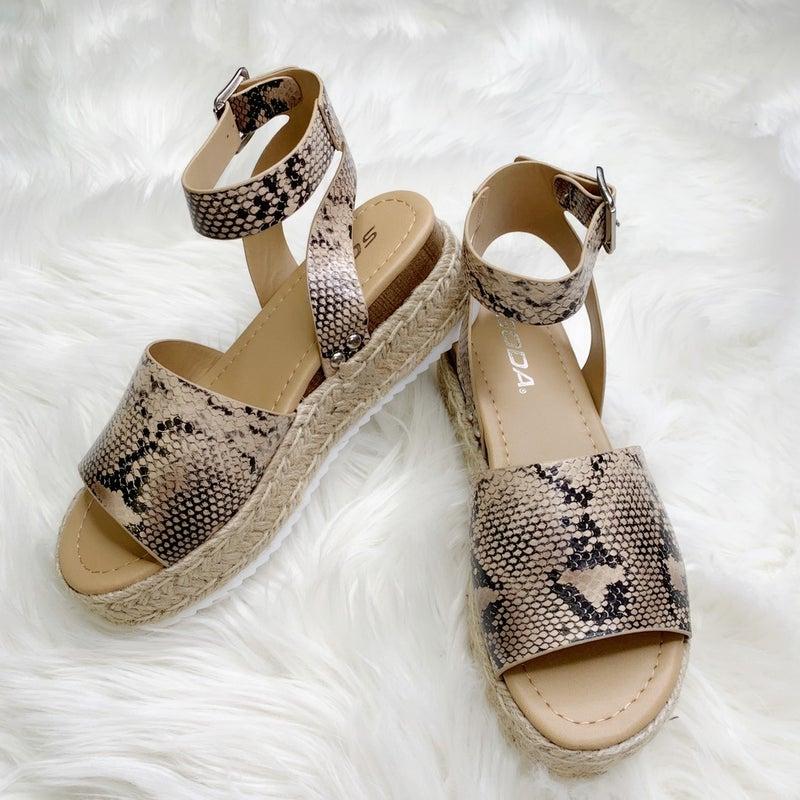 Espadrille Platform Sandals