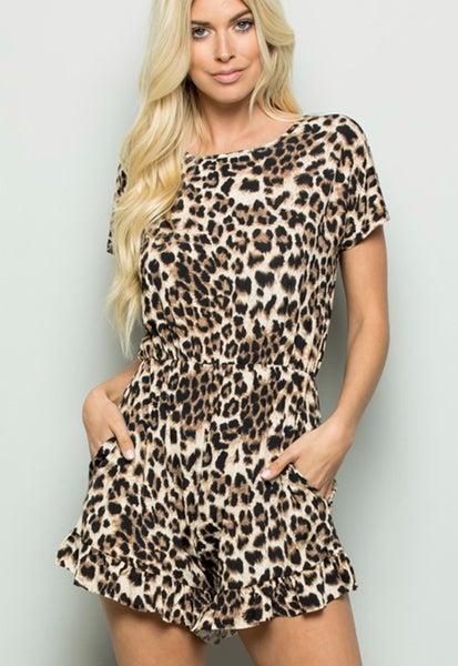 Born To Be Wild Cheetah Romper