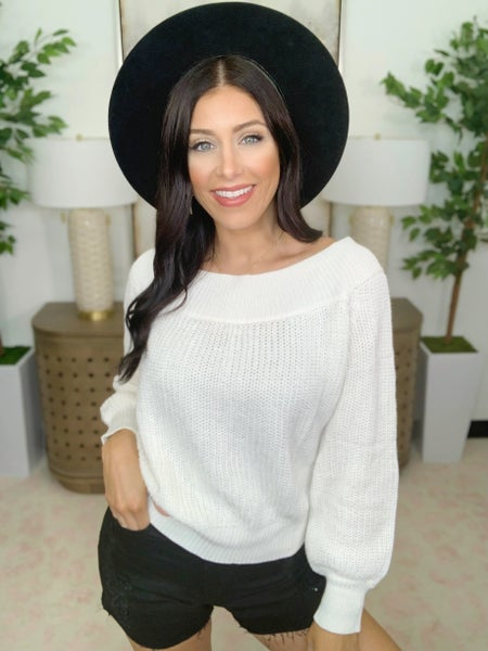 Fit Knit Sweater - 3 Colors!
