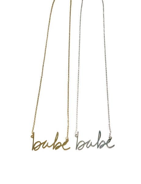 Babe Necklace - 2 Colors!