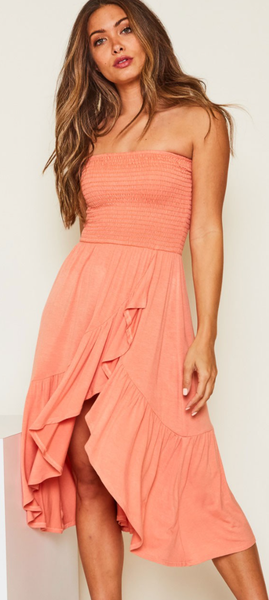 Go For It Midi Dress - 2 Colors!