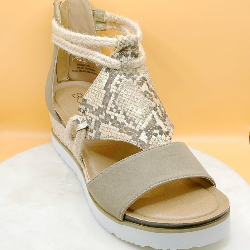 Corky's Browning Sandal - 4 Colors!