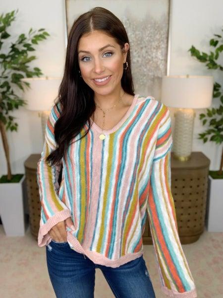 Rainbow Influence Hooded Sweater