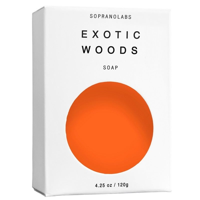 Exotic Woods Soap