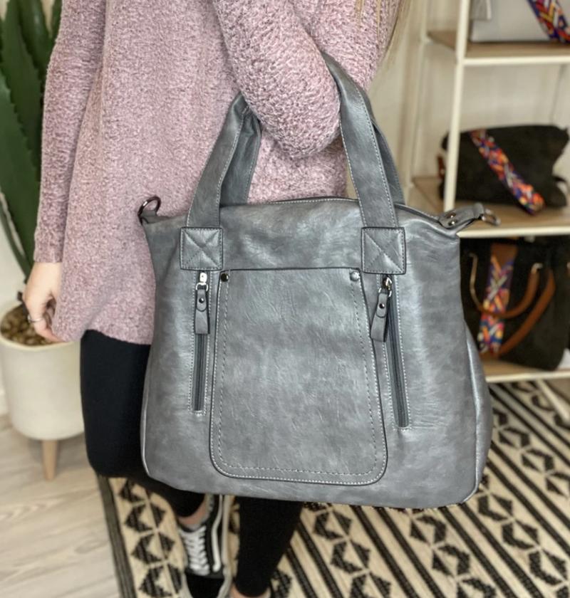 The Brinlee Shoulder Bag - 3 Colors!