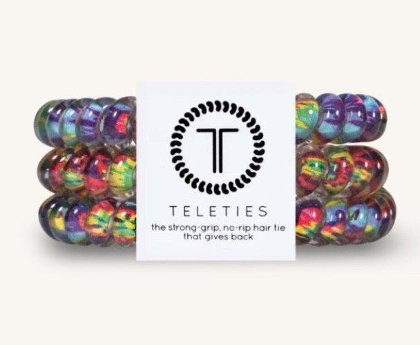 TELETIES Small Hair Ties- 6 Colors!