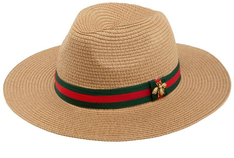 Straw Fedora Hat - 2 Colors!