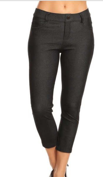 Perfect Pocket Skinny Capri Jeggings - 10 Colors!