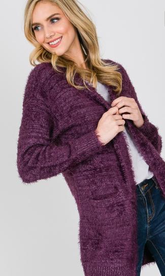 Fallen In Love Sweater Cardigan - 4 Colors!