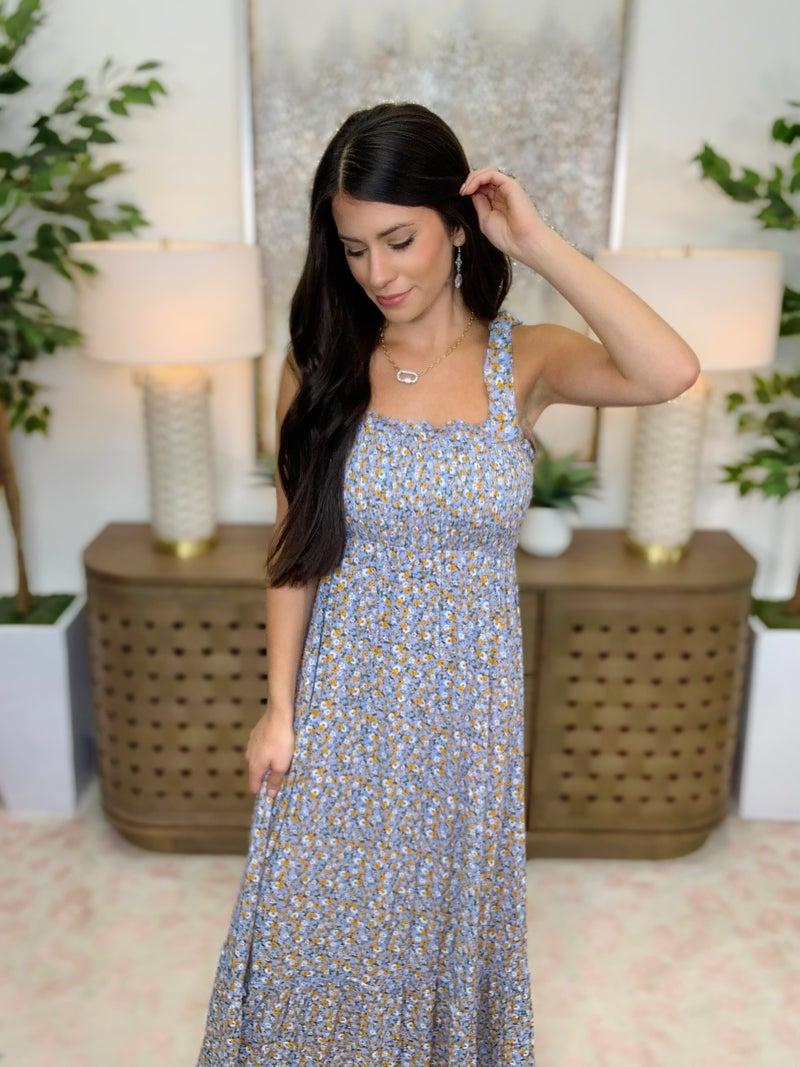 Sassy And Shine Maxi Dress