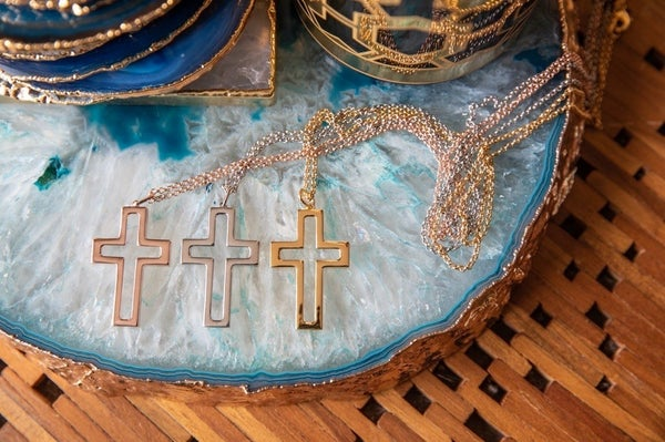 Hespera Cross Necklace - 3 Colors!