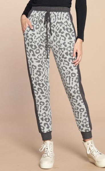 She's Got It All Leopard Jogger