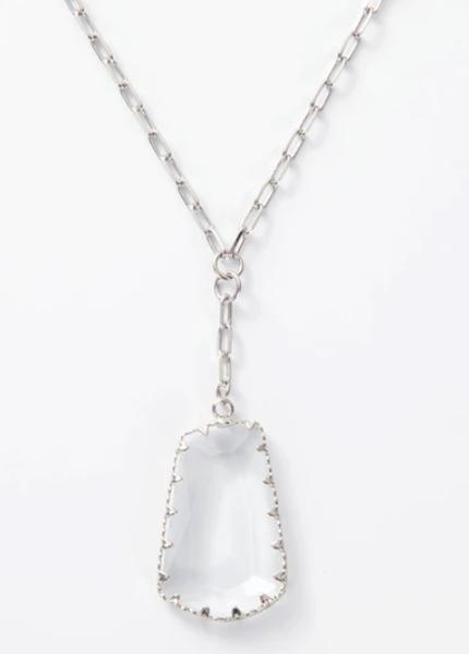 Melania Clara Felicia Necklace Silver - 2 Colors!
