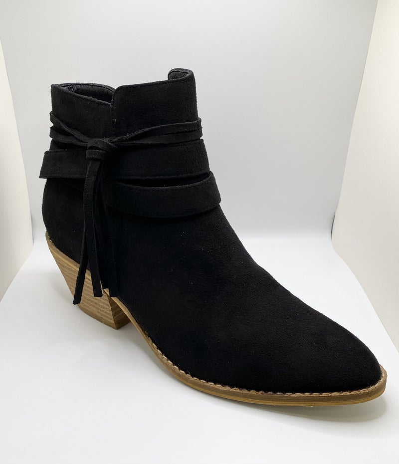 Corky's Topknot Booties -2 Colors