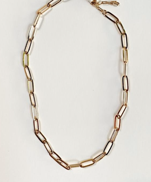 Mary Kathryn Gold Link Chain Necklace