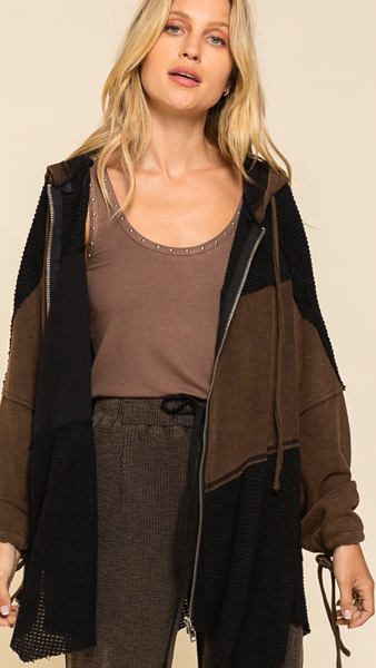 Fit To Be Tied Hooded Jacket - 3 Colors!