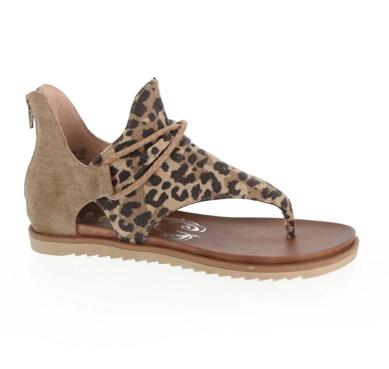 Very G Sparta Leopard Sandal
