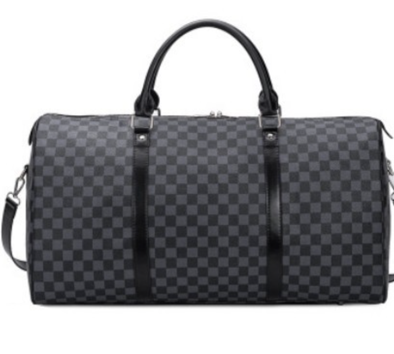 Checker Weekend Travel Bag-2-colors