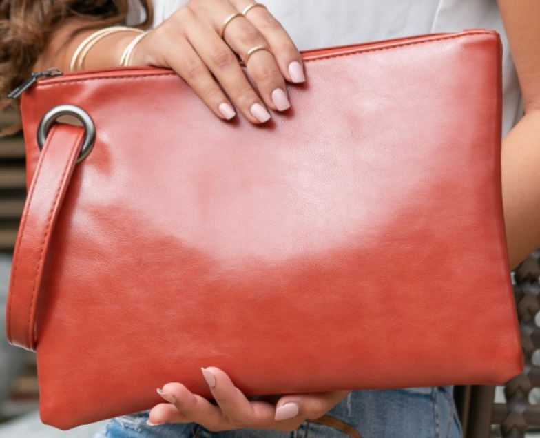 Oversized Everyday Clutch - 5 Colors!