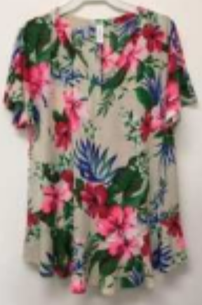 Florally Sewn Top