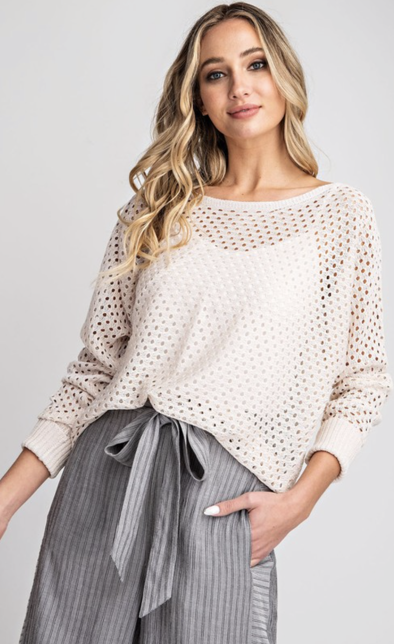 City Lights Sweater Top - 4 Colors!