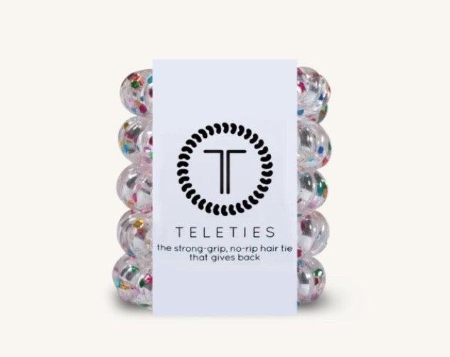 TELETIES Tiny Hair Ties- 6 Colors!