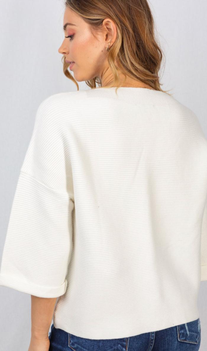 Cuff Tuff Sweater - 3 Colors!