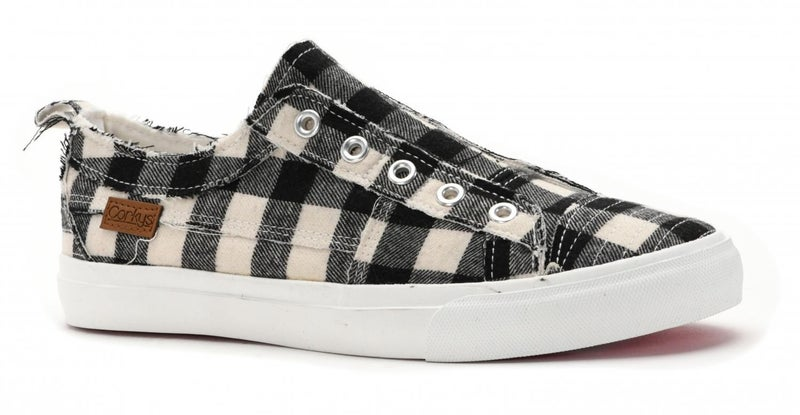 Corky's Babalu Plaid Slip On- 3 Colors!
