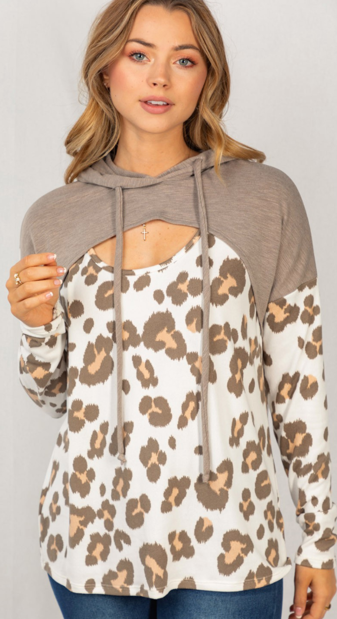 Leopard Of This Liking Hoodie