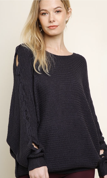 Intertwined Pullover Sweater