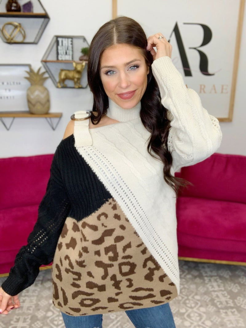 Triple Crown Sweater - 2 Colors!