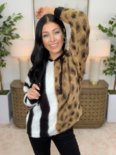 Cheetah Crew Top
