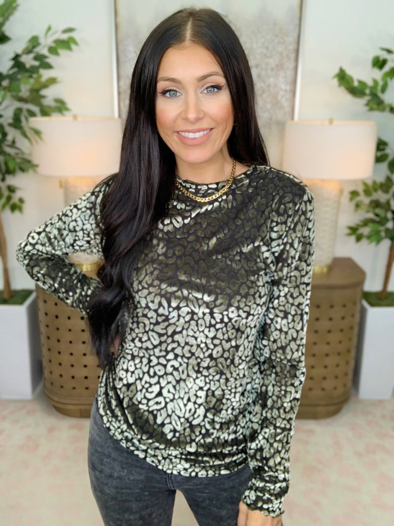 Shine Through The Shade Sweater - 2 Colors!