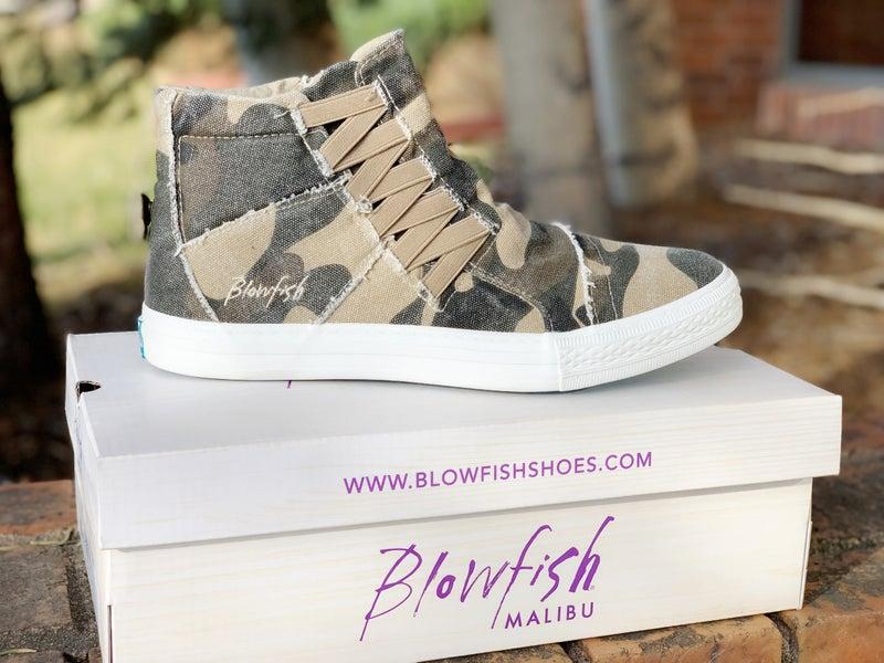 Blowfish Koala High Top Camo Sneaker