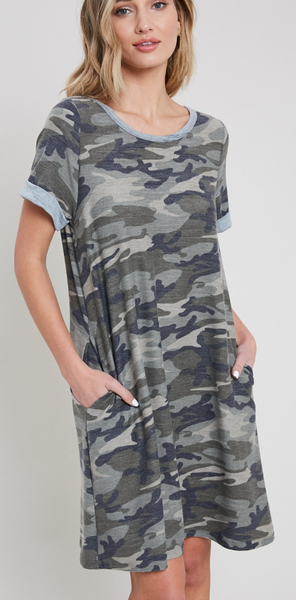 Master Of Disguise Mini Dress