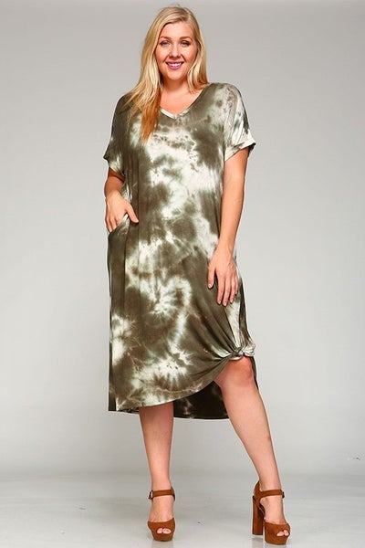 TIE DYE-ING TO SEE YOU MAXI DRESS