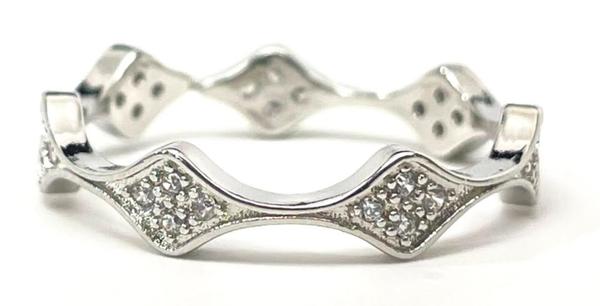 Melania Clara Crown Ring