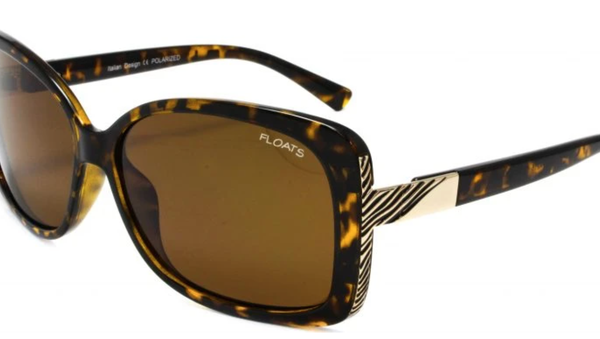 Floats Polarized Tort Sunglasses - 2 Colors!