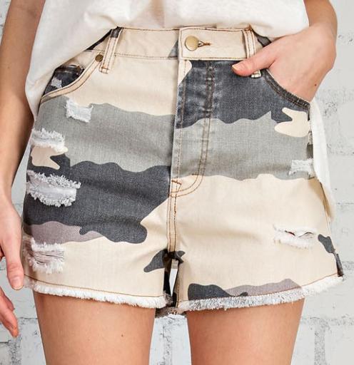 Can't Get Enough Camo Shorts