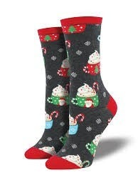 Cocoa Christmas Socks