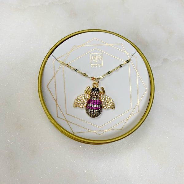 B.B. Lila Bumble Necklace