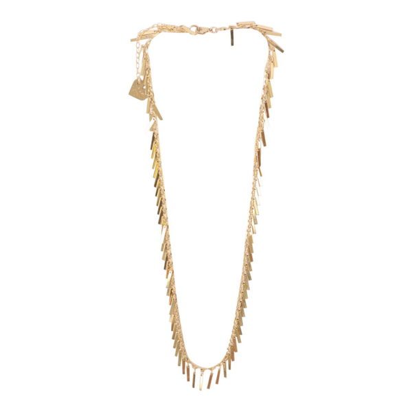 Hanging Bar Necklace - Gold