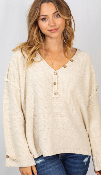 Continue To Grow Sweater - 4 Colors!