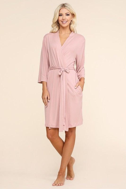 Love Me Tender Kimono Robe- 3 Colors!