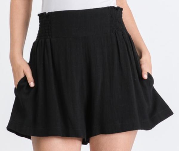 Prepare To Flare Shorts - 2 Colors!