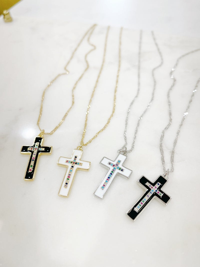 Melania Clara Like A Prayer Necklace
