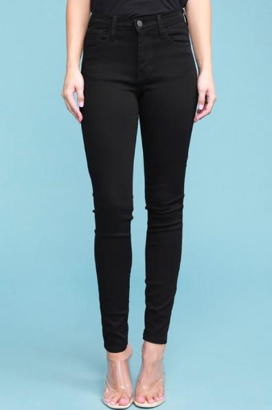 Judy Blue Black Betty High Waist Skinny Jeans
